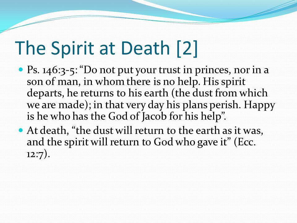 The Spirit at Death [2]